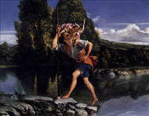 Landscape with St Christopher