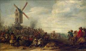 Battle by the Windmill