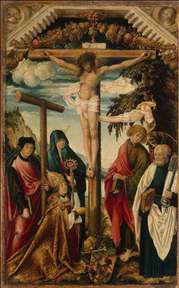 Crucifixion with Saints and Donor