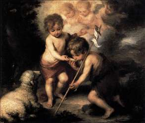 Infant Christ Offering a Drink of Water to St John
