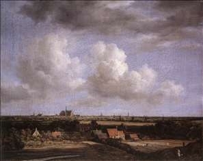 Landscape with a View of Haarlem