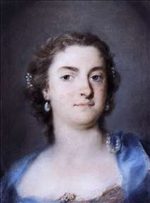 Portrait of Faustina Bordoni Hasse