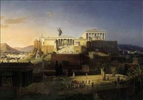The Acropolis at Athens