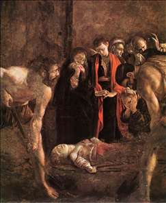Burial of St Lucy