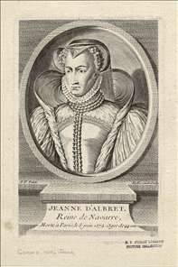 Jeanne d'Albret, Queen of Navarre