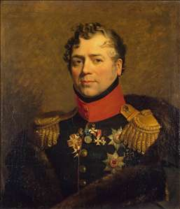 Portrait of Dmitry V. Golitsyn
