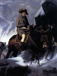 Bonaparte Crossing the Alps