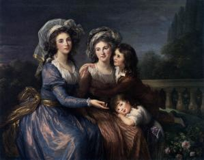 The Marquise de Pezay and the Marquise de Rougé with Her Sons Alexis and Adrien