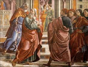 Expulsion of Joachim from the Temple