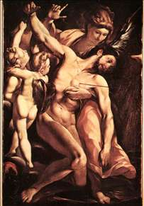 The Martyrdom of St Sebastian