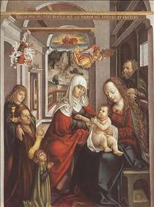 Saint Anne with the Virgin and the Child