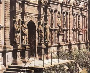 Façade of the Otto Heinrich Wing