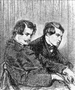 Portrait of Edmond and Jules de Goncourt
