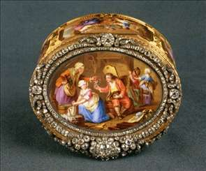 Oval Snuff-box