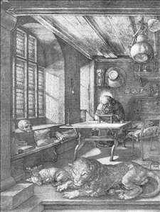 St Jerome in his Study