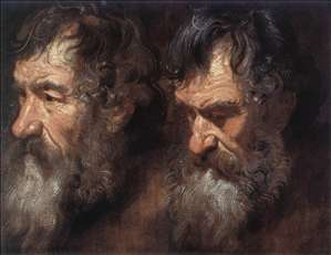 Studies of a Man's Head