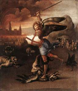 St Michael and the Dragon