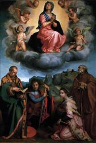 Virgin with Four Saints