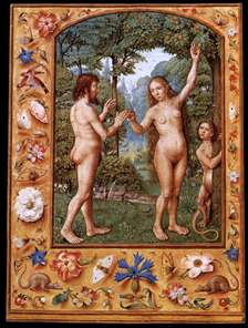 Grimani Breviary: Adam and Eve