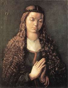 Portrait of a Young Fürleger with Loose Hair