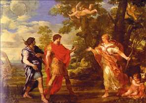 Venus as Huntress Appears to Aeneas