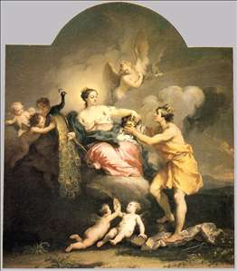 Juno Receiving the Head of Argos