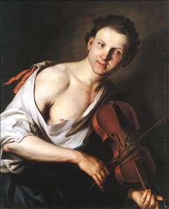 Young Man with a Violin