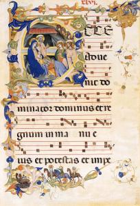 Gradual 1 for San Michele a Murano (Folio 46)