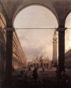 Piazza San Marco: Looking East from the North-West Corner
