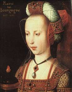 Portrait of Mary of Burgundy
