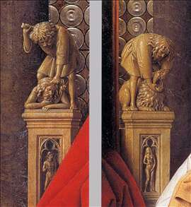 The Madonna with Canon van der Paele (details)