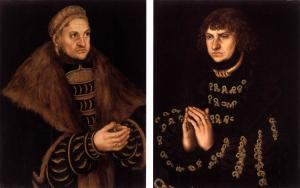 Donor Portraits of Frederick the Wise and John the Steadfast