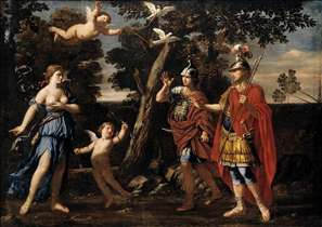 Venus Appearing to Aeneas and Achates