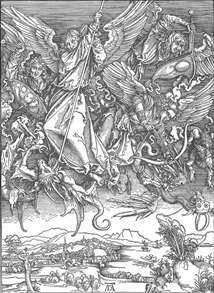 The Revelation of St John: 11. St Michael Fighting the Dragon