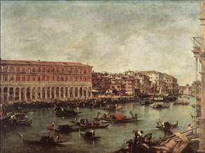 The Grand Canal at the Fish Market (Pescheria)