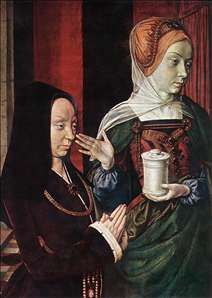 Mary Magdalen and a Donator