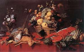 Still-life with a Basket of Fruit