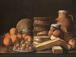 Still-Life with Oranges and Walnuts