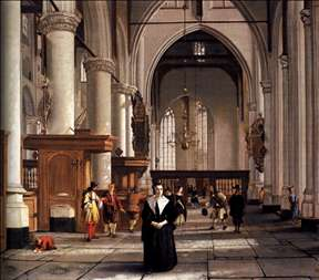 Interior of the Laurenskerk, Rotterdam