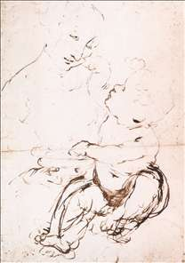 Study for the Madonna with the Fruit Bowl