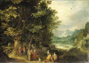 St John Preaching in the Wilderness