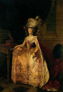 Portrait of Maria Luisa of Parma, Queen of Spain