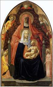 The Madonna and Child with Saint Anne