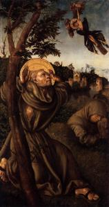 Stigmatisation of St Francis