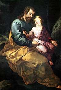 St Joseph and the Christ Child