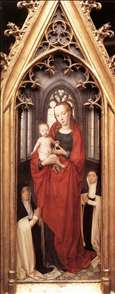 St Ursula Shrine: Virgin and Child