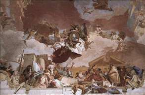 Apollo and the Continents (Europe, overall view)