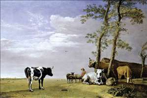 A Husbandman with his Herd
