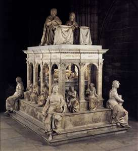Monument of Louis XII and Anne of Bretagne