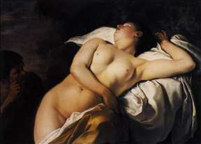 Sleeping Nymph and Shepherd